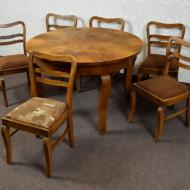 stol_6_krzesel_art_deco_krzesla_rozkladany_rozkladany_antyk_stary_komplet (2)