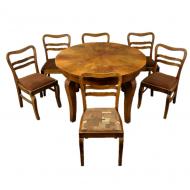 stol_6_krzesel_art_deco_krzesla_rozkladany_rozkladany_antyk_stary_komplet_