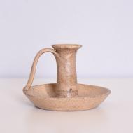 Świecznik ceramiczny Bjarmia Kuusamo, Finlandia, II poł. XX w (1)