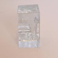 Szklany przycisk świecznik twarz (3)