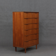 Teak chest of drawers-4-1