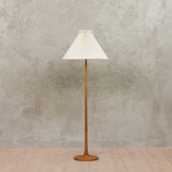 Teak lamp with Le Klint shade-3