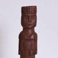 tekowa drewniana figurka totem (2)
