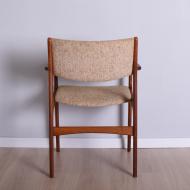 tekowy fotel erik buch beżowy (5)