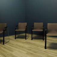 thonet cztery komplet czterech krzesel foteli a