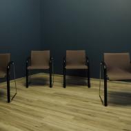 thonet cztery komplet czterech krzesel foteli  b