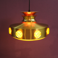 VINTAGE RETRO LAMPA VITRIKA LATA 60 70 DANISH DESIGN