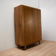 Vintage wardrobe in ash by Bohumil Landsman for Jitona, 1960s 2 (2)