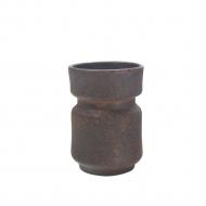 wazon brązowy porowaty