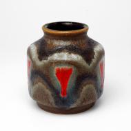 wazon fat lava brązowy (3)