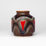 wazon fat lava brązowy (4)