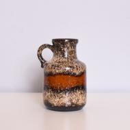 wazon nieduży pomarańczowo bezowy (1)