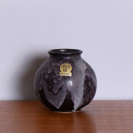 Wazon Ruscha Keramik, Niemcy, lata 70. szary (1)