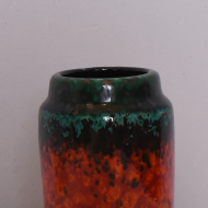wazon west germany nieduży czerwony zieliony  (2)
