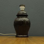 wielka porcelanowa salonowa lampa  att