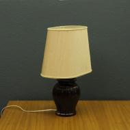 wielka porcelanowa salonowa lampa  f