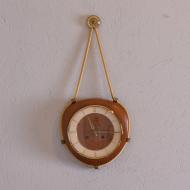 Zegar ścienny, Kienzle, Niemcy, lata 70. na sznurku (1)