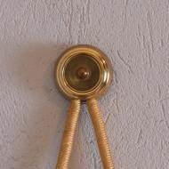 Zegar ścienny, Kienzle, Niemcy, lata 70. na sznurku (3)