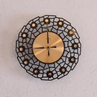 Zegar ścienny Weimar, Niemcy, lata 70 (1)