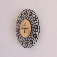 Zegar ścienny Weimar, Niemcy, lata 70 (2)