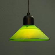 zielona lampa sufit skandynawia s