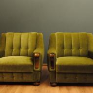 zielone fotele salonowe jm — kopia