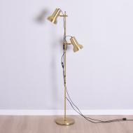 złota lampa podłogowa ładna naklejka  (1)