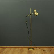 złoty belid lampa podłogowa skandynawia