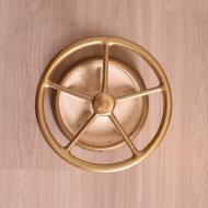 złoty parasolnik żeliwna podstawa (2)